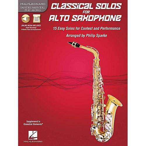 De Haske Music Classical Solos - 15 Easy Solos for Contest and Performance Book/CD Alto Sax