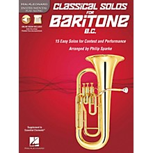De Haske Music Classical Solos - 15 Easy Solos for Contest and Performance Book/CD Baritone B.C.