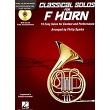 De Haske Music Classical Solos - 15 Easy Solos for Contest and Performance Book/CD French Horn