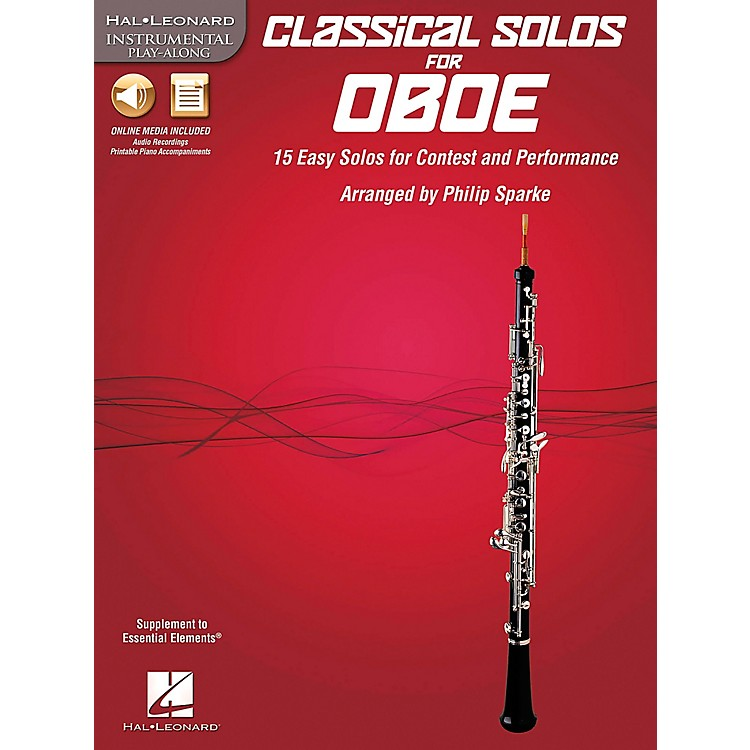 De Haske Music Classical Solos - 15 Easy Solos for Contest and Performance Book/CD Oboe
