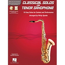 De Haske Music Classical Solos - 15 Easy Solos for Contest and Performance Book/CD Tenor Saxophone