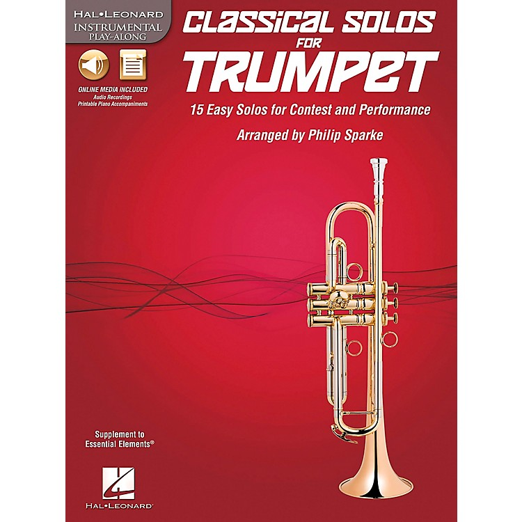 De Haske MusicClassical Solos - 15 Easy Solos for Contest and Performance Book/CDTrumpet
