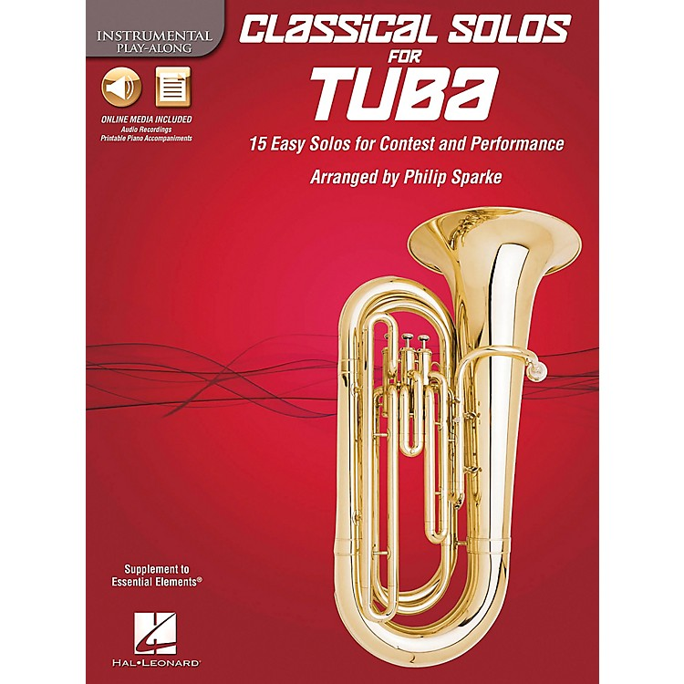 De Haske Music Classical Solos - 15 Easy Solos for Contest and Performance Book/CD Tuba