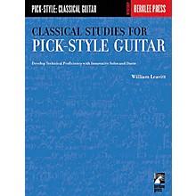 Berklee Press Classical Studies for Pick-Style Guitar - Volume 1 Book