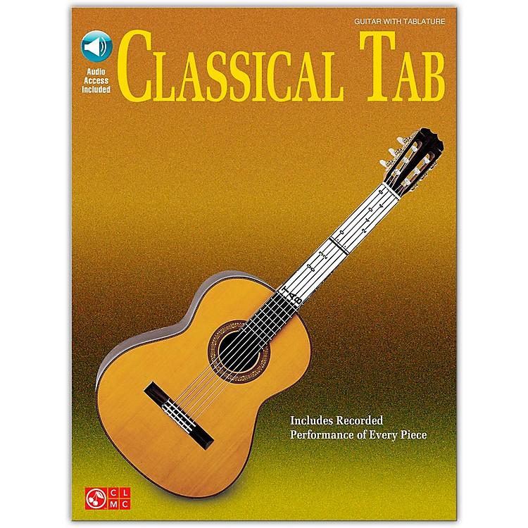 Cherry LaneClassical Tab Guitar Songbook Book/CD