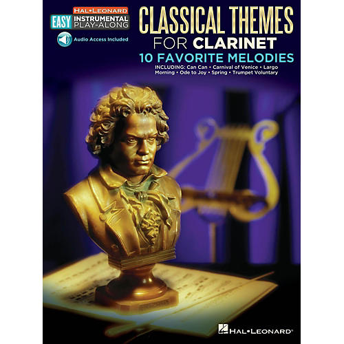 Hal Leonard Classical Themes - Clarinet - Easy Instrumental Play-Along Book with Online Audio Tracks