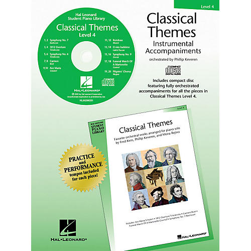 Hal Leonard Classical Themes - Level 4 - CD (Hal Leonard Student Piano Library) Piano Library Series CD-thumbnail