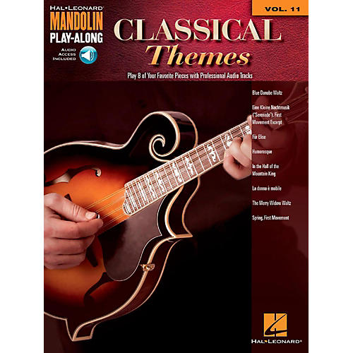 Hal Leonard Classical Themes - Mandolin Play-Along Vol. 11 (Book/Audio Online)-thumbnail