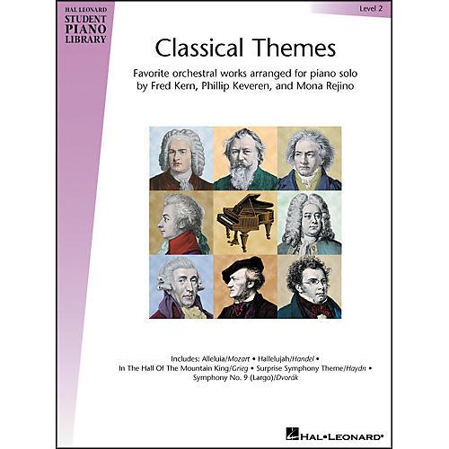 Hal Leonard Classical Themes Level 2 Hal Leonard Student Piano Library
