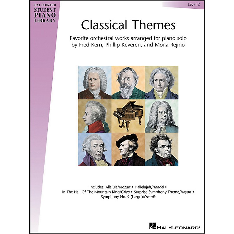 Hal Leonard Classical Themes Level 2 Hal Leonard Student Piano Library