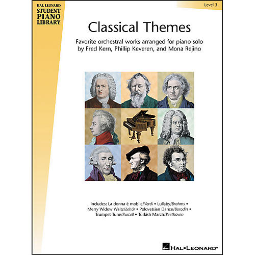 Hal Leonard Classical Themes Level 3 Hal Leonard Student Piano Library