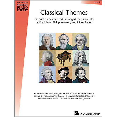 Hal Leonard Classical Themes Level 5 Hal Leonard Student Piano Library