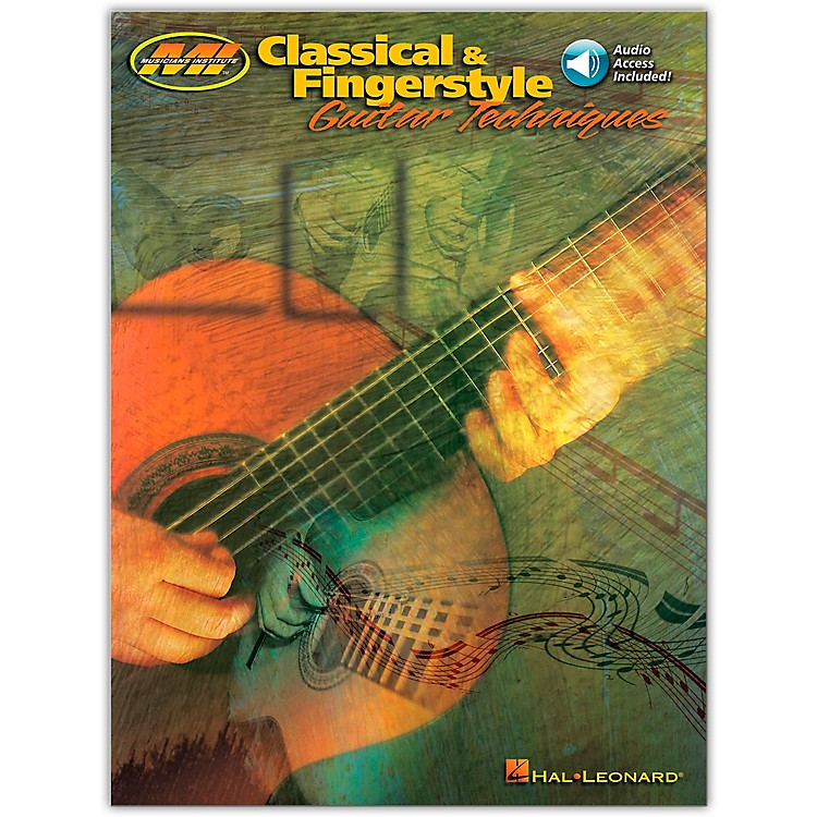 Hal Leonard Classical and Fingerstyle Guitar Techniques Book/CD
