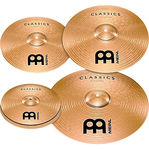 meinl classics bonus pack cymbal box set with free 18 crash musician 39 s friend. Black Bedroom Furniture Sets. Home Design Ideas