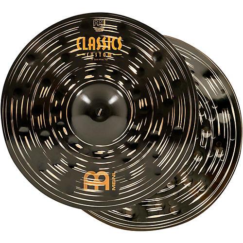 Meinl Classics Custom Dark Hi-Hat Cymbal Pair-thumbnail