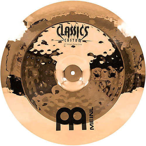 Meinl Classics Custom Extreme Metal China Cymbal Bronze 18 in.-thumbnail