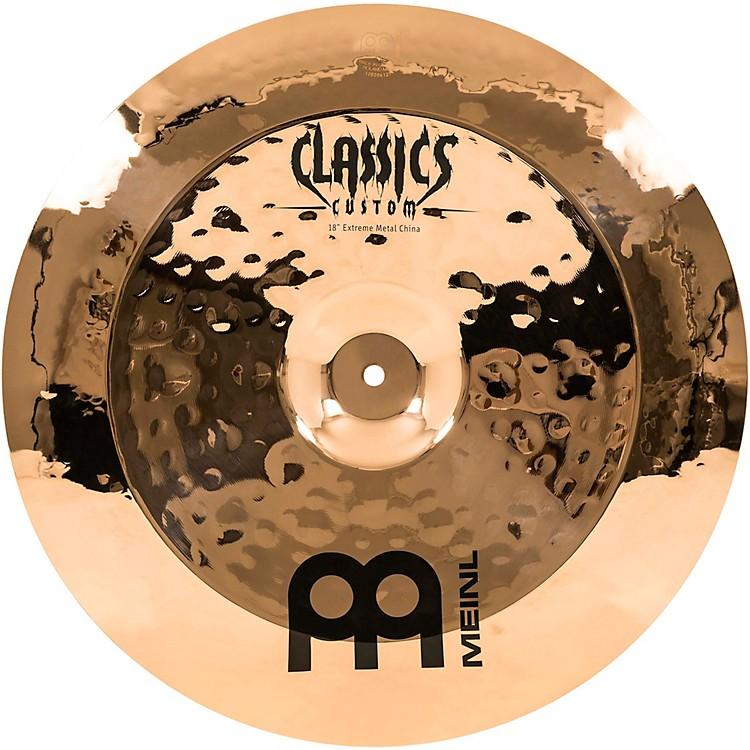 MeinlClassics Custom Extreme Metal China CymbalBronze18Inch
