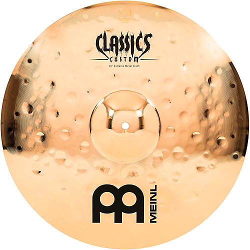 Meinl Classics Custom Extreme Metal Crash Cymbal 18 in.