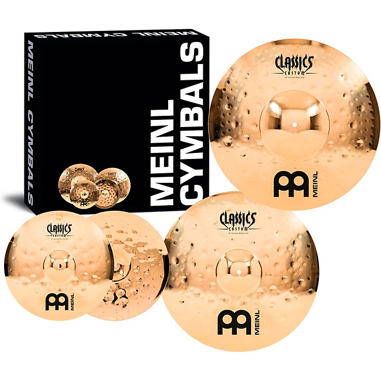 MeinlClassics Custom Extreme Metal Cymbal Set