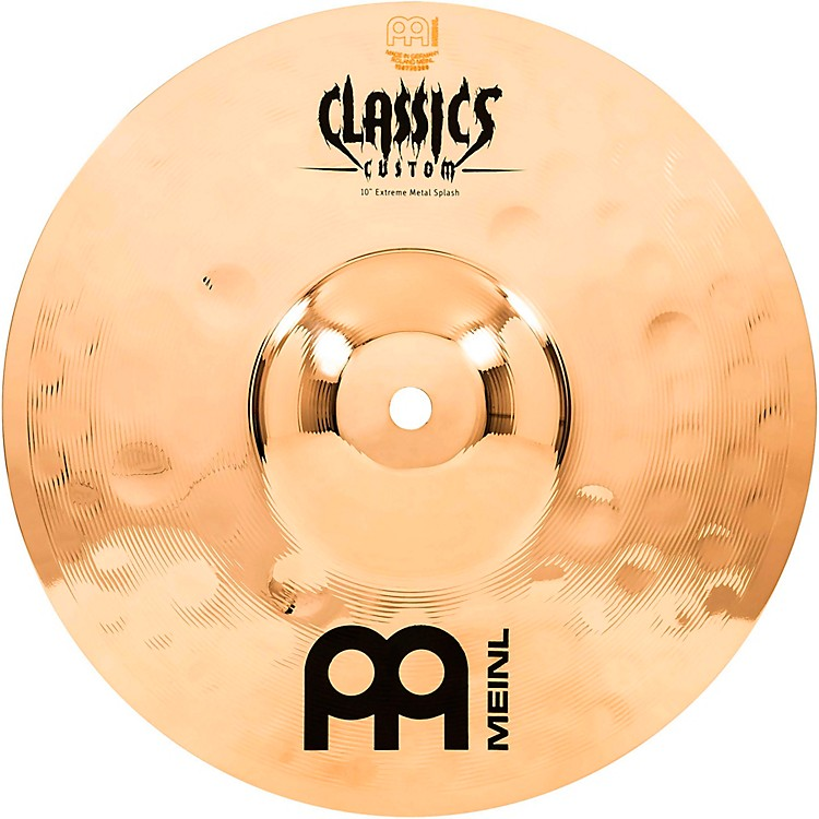 MeinlClassics Custom Extreme Metal Splash Cymbal10 Inch