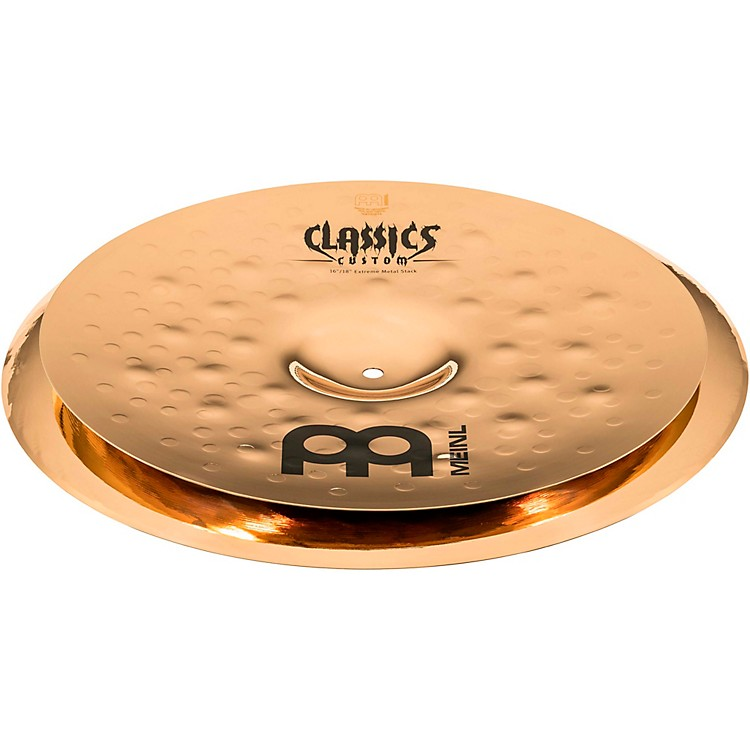 Meinl Classics Custom Extreme Metal Stack 16 Inch /18 Inch