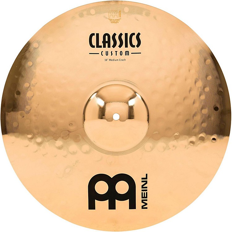 Meinl Classics Custom Medium Crash - Brilliant 18 inch