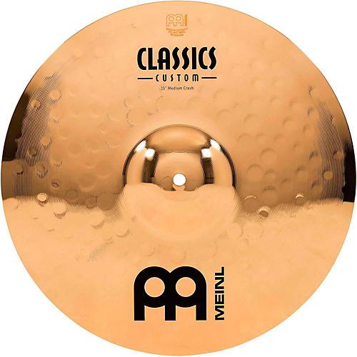 Meinl Classics Custom Medium Crash Cymbal 15 Inch