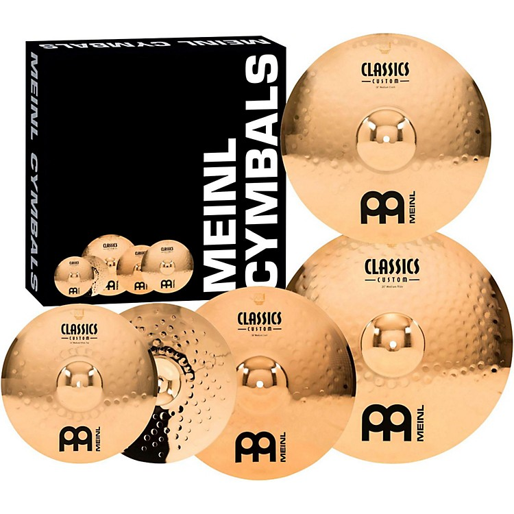 Meinl Classics Custom Medium Cymbal Set with Free 18 Inch Crash