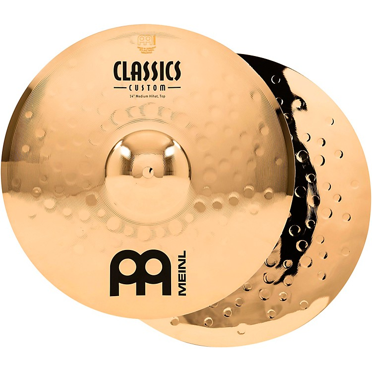 MeinlClassics Custom Medium Hi-Hats - Brilliant14 inch