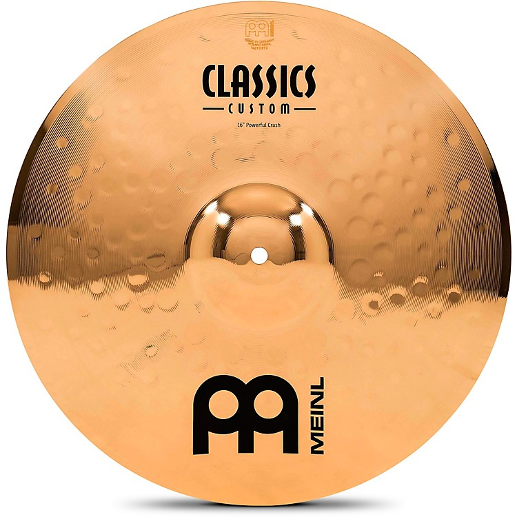 Meinl Classics Custom Powerful Crash - Brilliant 16 inch