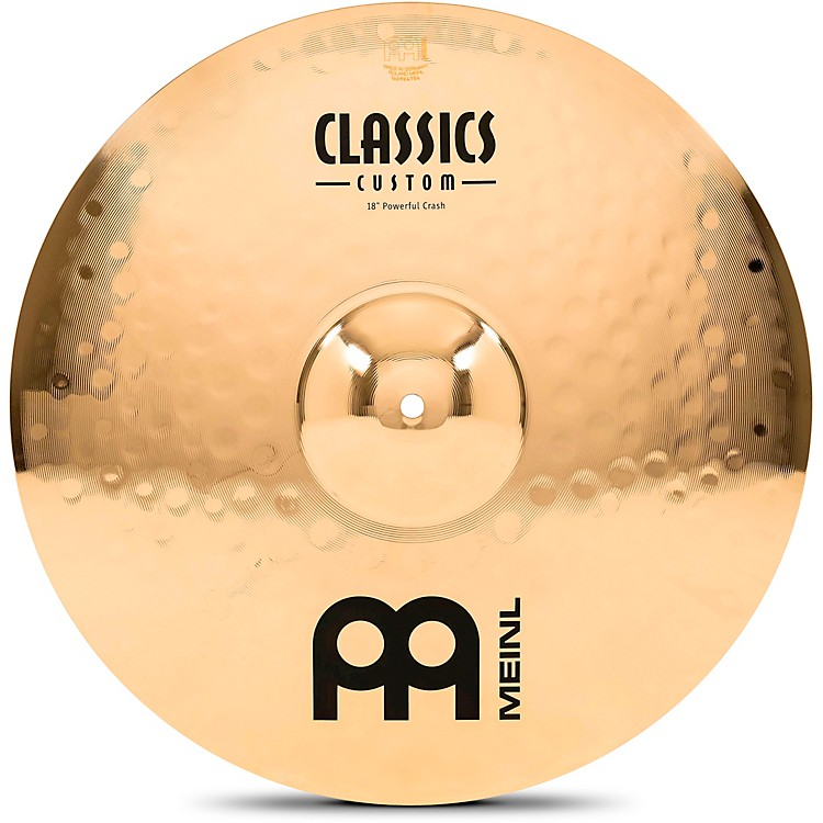 Meinl Classics Custom Powerful Crash - Brilliant 18 inch