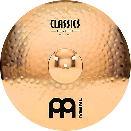 Meinl Classics Custom Powerful Ride - Brilliant 20 in.