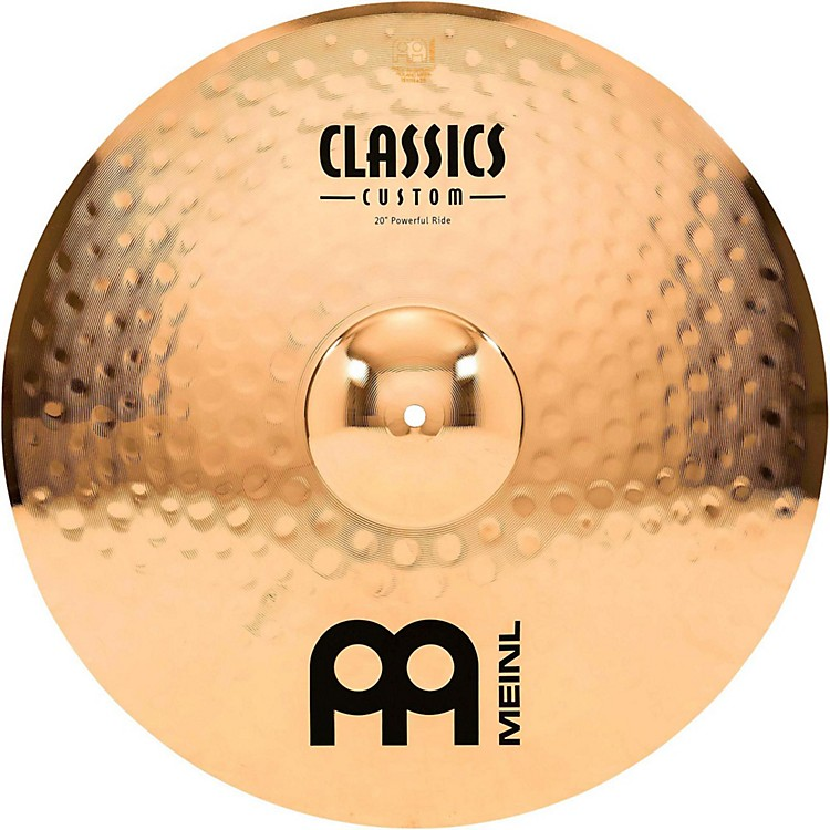 Meinl Classics Custom Powerful Ride - Brilliant 20 inch