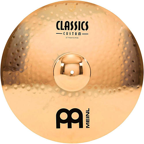 Meinl Classics Custom Powerful Ride - Brilliant 22 in.