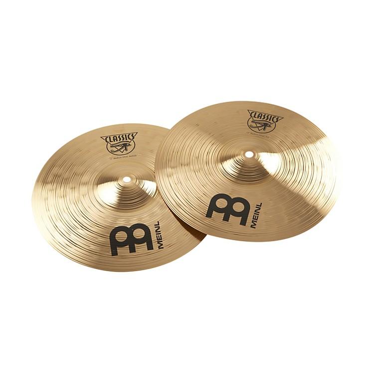 MeinlClassics Medium Hi-Hat Cymbals13 Inch