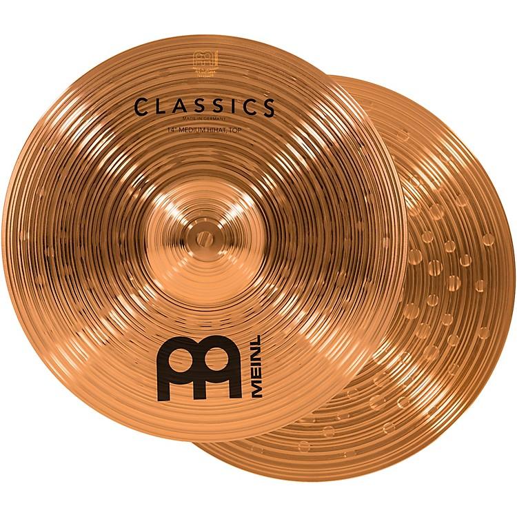MeinlClassics Medium Hi-Hat Cymbals14 Inch