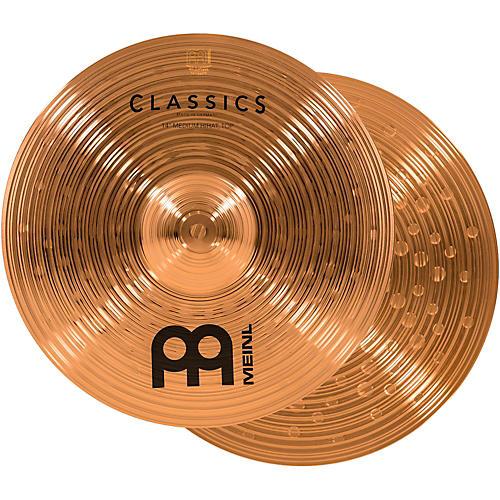 Meinl Classics Medium Hi-Hat Cymbals 14 in.