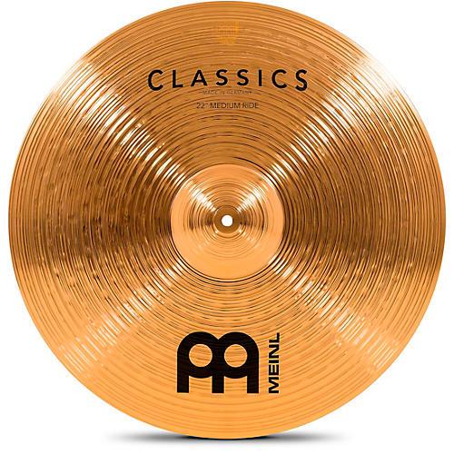 Meinl Classics Medium Ride Cymbal 22 in.