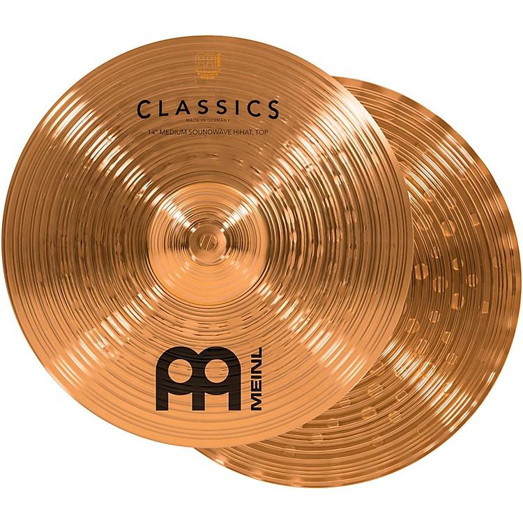 MeinlClassics Medium Soundwave Hi-Hat Cymbals14