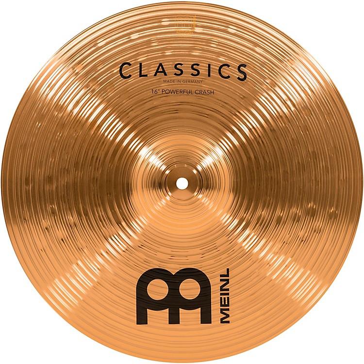 MeinlClassics Powerful Crash Cymbal18 IN