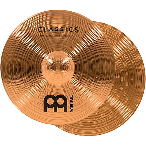 Meinl Classics Powerful Soundwave Hi-Hat Cymbals 14