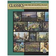 Alfred Classics for the Developing Pianist, Study Guide Book 3 Late Intermediate