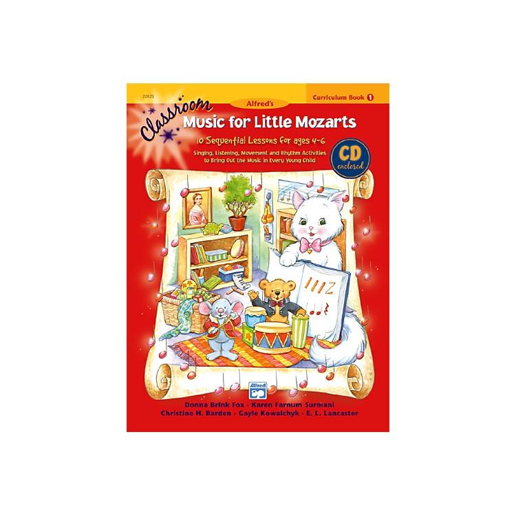 AlfredClassroom Music for Little Mozarts Curriculum Book 1 & CD