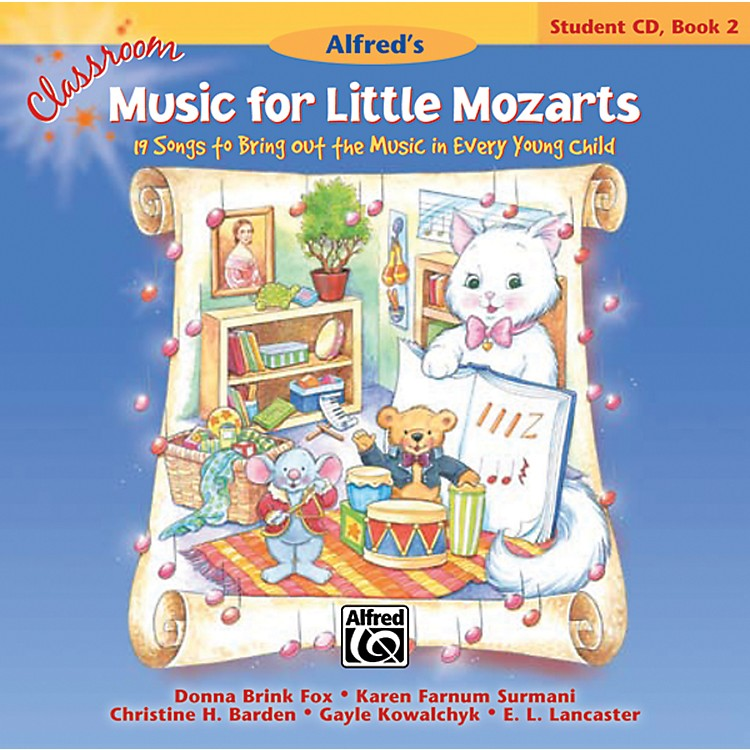 AlfredClassroom Music for Little Mozarts Student CD 2
