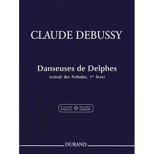 Durand Claude Debussy Danseuses de Delphes Book 1 For Piano