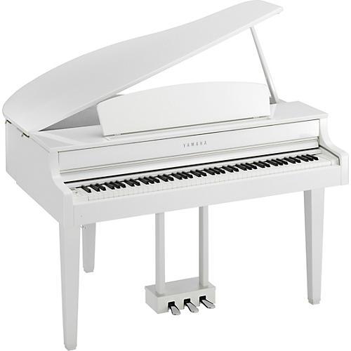 yamaha clavinova clp665 digital grand piano with bench musician 39 s friend. Black Bedroom Furniture Sets. Home Design Ideas