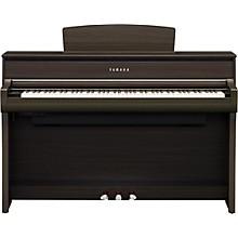 Yamaha Clavinova CLP675 Console Digital Piano with Bench Dark Walnut