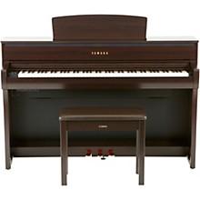 Yamaha Clavinova CLP675 Console Digital Piano with Bench Rosewood