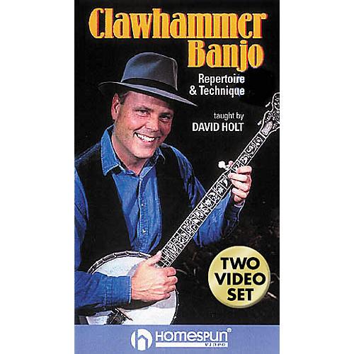 Hal Leonard Clawhammer Banjo - 2-Video Set