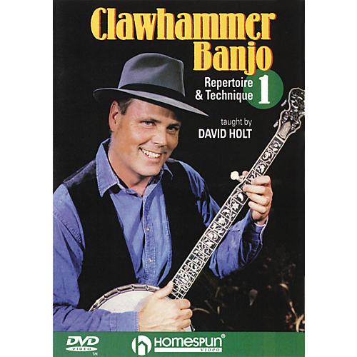 Homespun Clawhammer Banjo 1 (DVD)-thumbnail